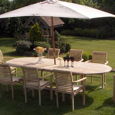 Oregon Stacking Chair 3.0 mtr Oval Extension Set