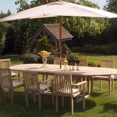 Miami Stacking Chair 3.0 mtr Oval Extension Set