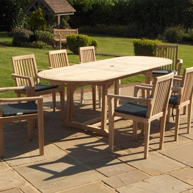 Atlanta Stacking Chair 2.4mtr Oval Extension Set Complete