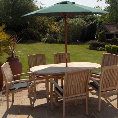 Miami Stacking Chair 1.7 mtr Oval Extension Set