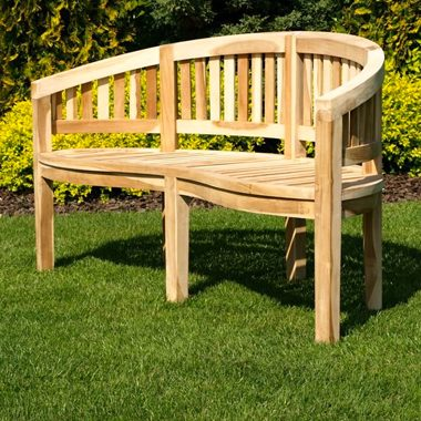 Balmoral Curved Classic Bench