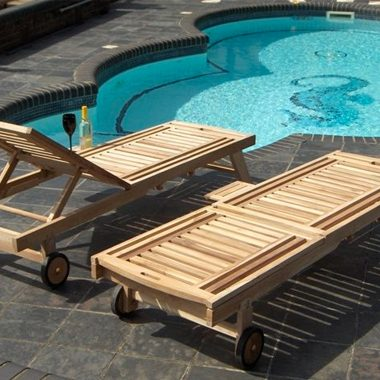 Los Angeles Wheeled Loungers