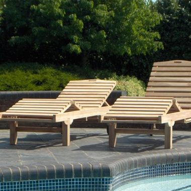California Deluxe Wheeled Loungers