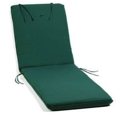 Deluxe Green Wheeled Lounger Cushion
