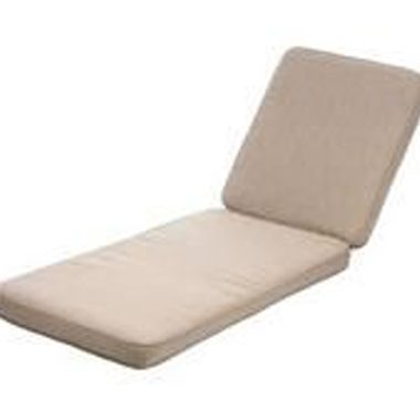 Deluxe Natural Wheeled Lounger Cushion